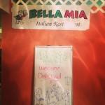 Stop #1 on my last Dishcrawl, Bella Mia