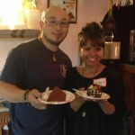 JJ French Pastry's owner along with Papiloa Jourdan of Dishcrawl Oahu